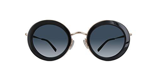 Max Mara Mmeileen-807-46 Damen Sonnenbrille, Schwarz, 46