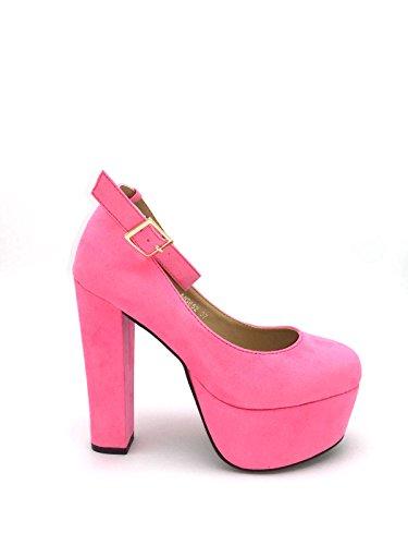 Sasha, Fucsia simil camoscio, 37 - Scarpe con tacco - Martina Gabriele shoes