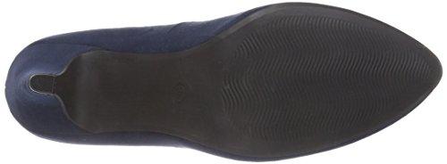 Marco Tozzi 22428, Chaussures à talons - Avant du pieds couvert femme Bleu - Bleu (NAVY 805)