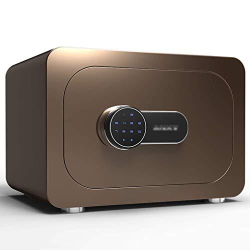 ZSAIMD Safe, mit abnehmbarem Shelf-Code & Notfall Taste Aufschalten, Einbauschränken Alarm Wand/Boden-Mounted Solid Steel Digital-Schließfach/Verriegelungs-Kasten/Cash Box for Büro oder zu Hause -