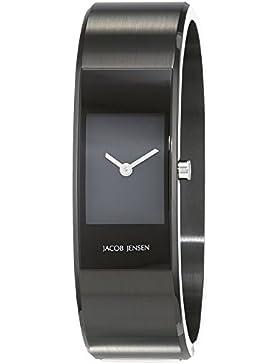 Jacob Jensen Damen-Armbanduhr Analog Quarz Edelstahl beschichtet 32453