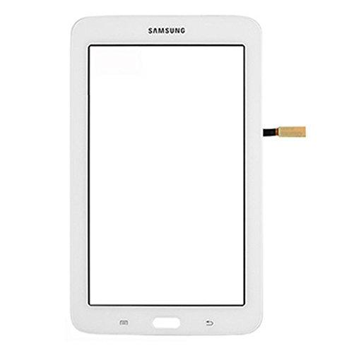 Samsung Galaxy Tab 3 LITE 7.0 SM T110 Touchscreen Touch Screen Digitizer Glas + Klebestreifen Weiß