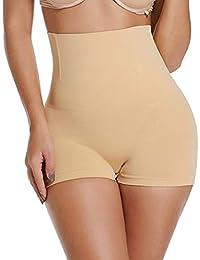 6e9a4dbf8b76 SURE YOU LIKE Women's Shapewear Tummy Control Body Shaper High Waist Butt  Lifter Panties Seamless Slimming