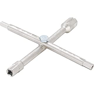 BGS 8448 | Sanitär-Kreuzschlüssel | 10 Funktionen