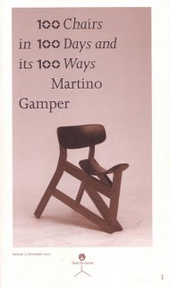 100 Chairs in 100 Days in 100 Ways: Martino Gamper