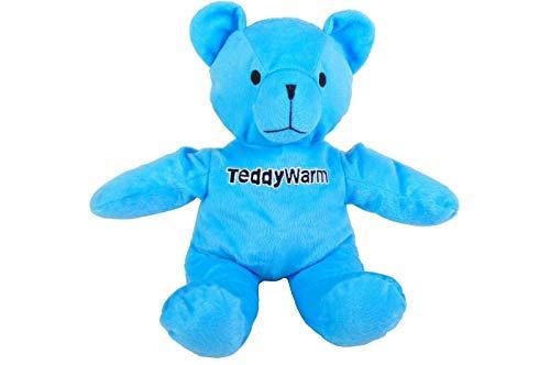 FidgetGear Teddy Warm blau Pediwarm Kühlkissen Körnerkissen Wärmflasche as picture show One