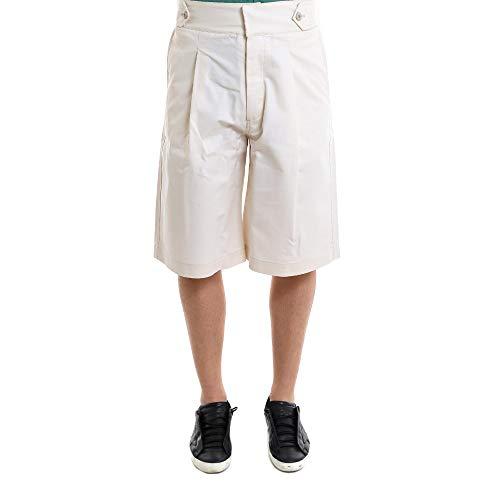 OAMC Homme I025584CJ00 Blanc Coton Shorts OAMC