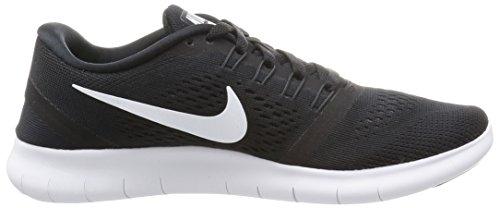 Nike Free Run, Chaussures de Running Entrainement Femme Noir (Black/White/Anthracite)