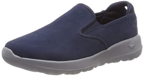Skechers go walk joy, sneaker infilare donna, blu (navy grey nvgy), 39 eu