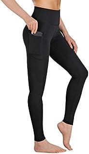 Gimdumasa Yoga Pants for Women High Waist Workout Sports Leggings Tummy Control Yoga Pants with Pockets GI16