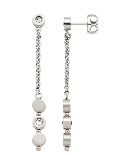 Jewels by Leonardo Damen-Ohrstecker Dorelly, Edelstahl mit facettierten Kristallsteinchen, Größe (B/H/T): 6/52/13 mm, 016788