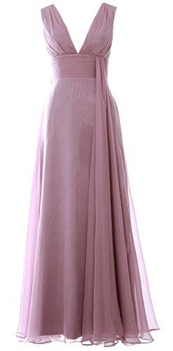 MACloth - Robe - Trapèze - Sans Manche - Femme Ash Pink