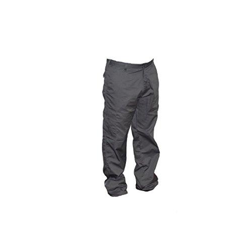 Lee Cooper Workwear, Pantaloni cargo da lavoro, 36R, grigio, LCPNT205, 36