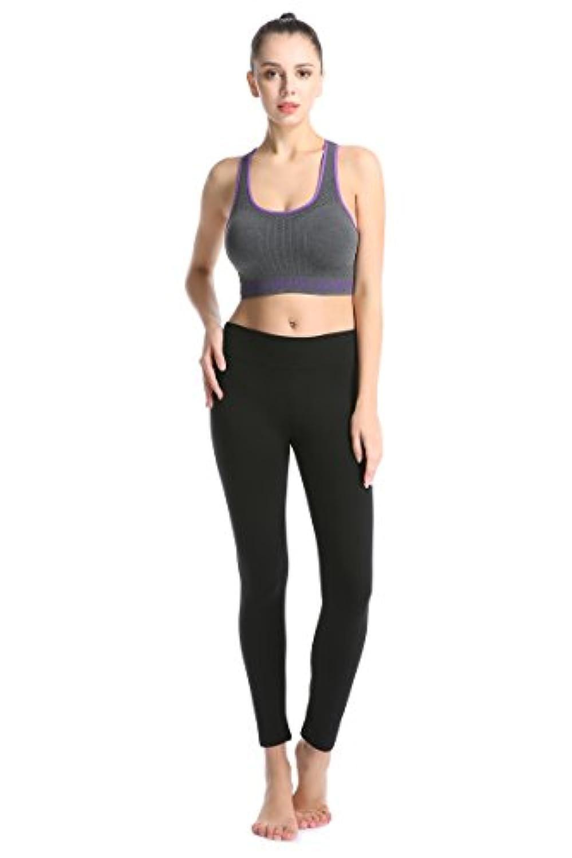 ABUSA Femme Yoga Legging Pantalon de Sport pour Fitness Gym Pilates ... ab6de3f3b6f