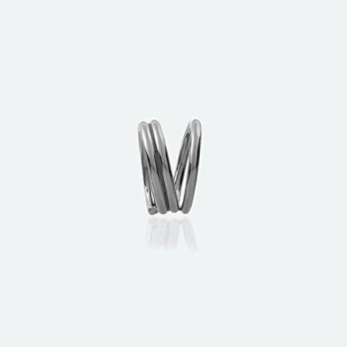 Murphy Ring Splints | Anti Schwanenhals Ringe nach Murphy | EDELSTAHL | verschiedene Durchmesser (Ø ca. 17 mm | Umfang 53 mm) -