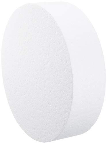 Staedter Rond de Coupe pour gâteau de démonstration, Blanc, Blanc, 25 cm