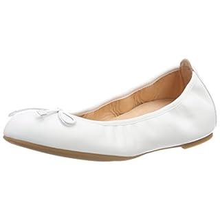 Unisa Damen ACOR_18_RI Geschlossene Ballerinas, Weiß (White), 39 EU