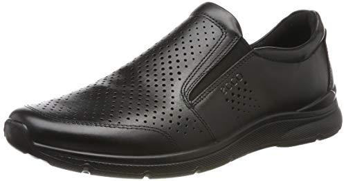 ECCO Herren Irving Slip On Sneaker, Schwarz (Black 1001), 44 EU (Ecco Herren Schuhe Slip On Schwarz)