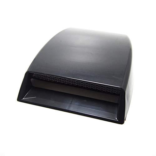 BoburyL Auto dekorative Air Flow Intake Hood Scoop Vent Car Bonnet Entlüfterelement Dekor Autoschmuck -