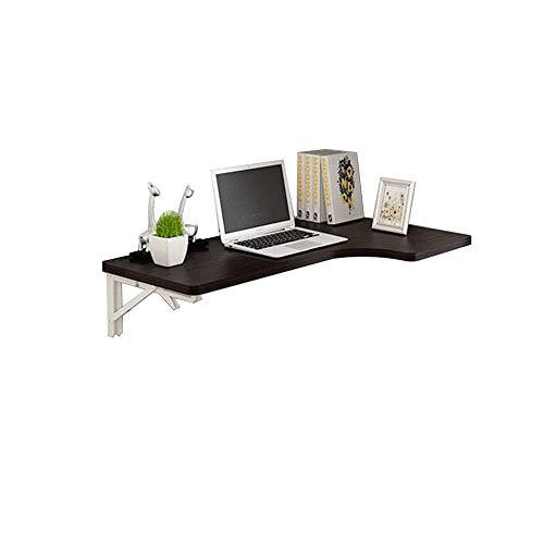 Möbel L-förmige Computer (JU FU Klapptisch-L-förmige Desktop-Ecke Klapptisch Wandbehang Wandtisch Home Computer Schreibtisch Ecktisch Schwarz | (größe : A))