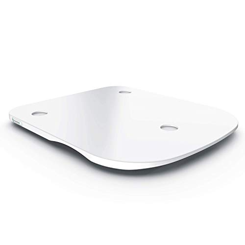 ThermoSlider M - V2 - Premium-Gleitbrett aus Mineralwerkstoff HI-MACS für Thermomix TM6 / TM5 - Farbe: Alpine White