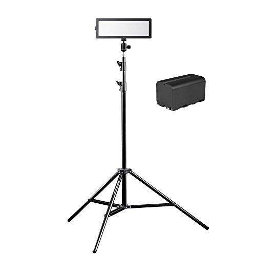 Walimex Pro Soft LED 200 Flat Bi-Color, 3 Stück, schwarz