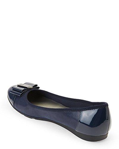 Anne Klein Frauen Flache Schuhe Blau Groesse 10 US/41.5 EU (Klein-flache Schuhe Anne)