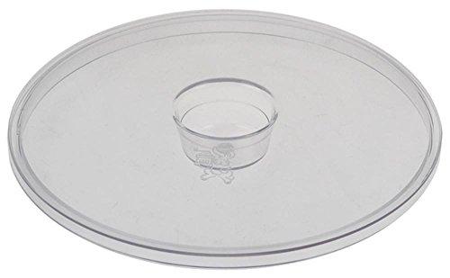 Cunill Deckel für Kaffeemühle Uganda-Automatic-Silencioso, Full-Metal für Kaffeebohnenbehälter ø 204mm