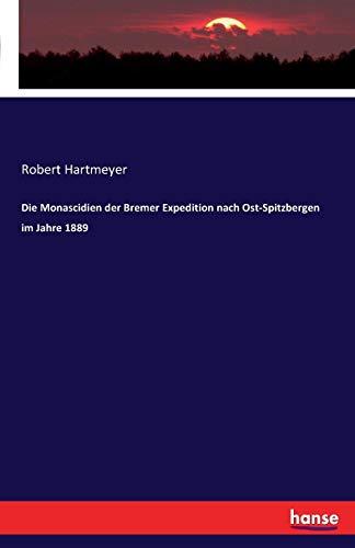 Die Monascidien der Bremer Expedition nach Ost-Spitzbergen im Jahre 1889
