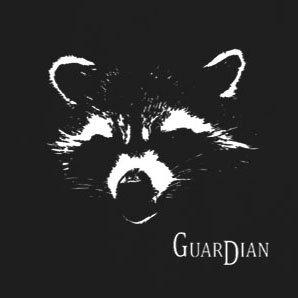 Guardian - Stofftasche / Beutel Schwarz