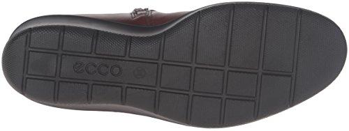 ECCO 217.153 FELICIA Les chaussures noires femme noire boucle en cuir zip de démarrage cuir