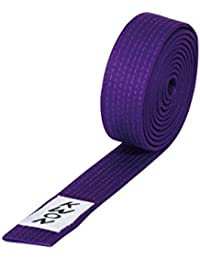 Kwon Taekwondo Judo Karate Gürtel Budogürtel 4 cm violett
