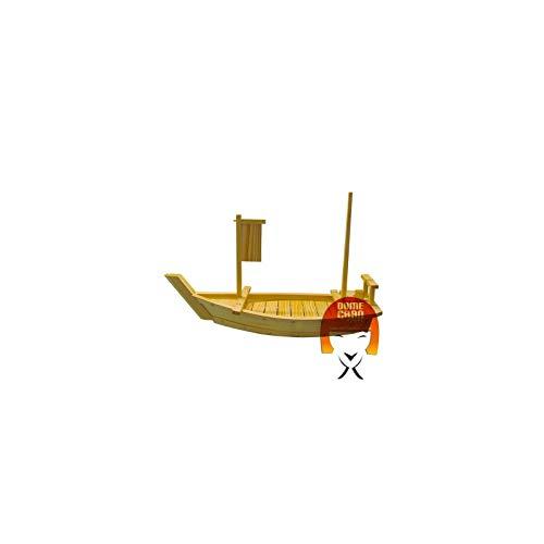 Boot aus Holz für Sushi und Sashimi lang 90cm