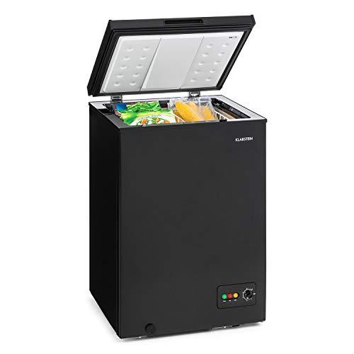Klarstein Iceblokk 100 congelatore pozzetto scomparto freezer 4 stelle caricamento dallŽaltro 100 L di volume 75 W regolatore di temperatura