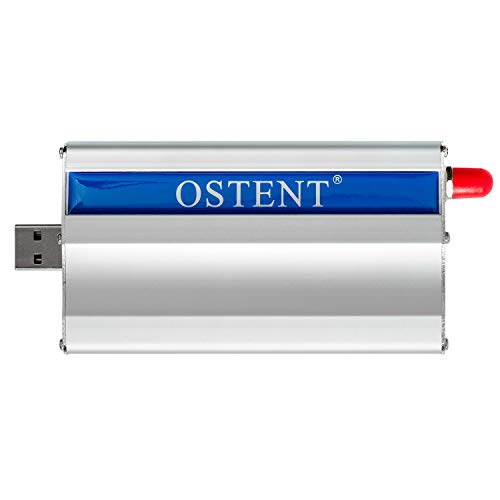 OSTENT GSM GPRS Modem with Wavecom Q2406A Module USB Interface AT Commands  SMS MMS