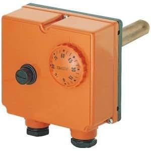 Aquastat en boîtier à plonge double 0-90° C TLSC réf TR542714
