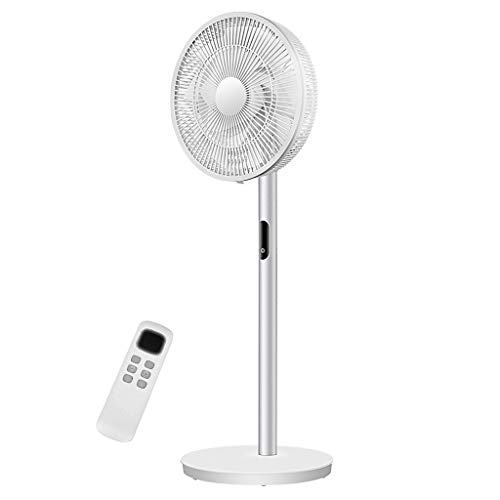 Ventilador de Pedestal, Motor de CC silencioso Ventilador de Pedestal de pie oscilante, 26 velocidades...