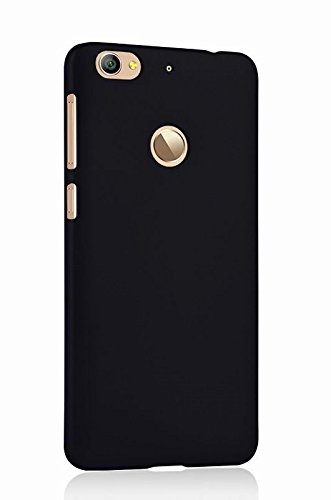 WOW Imagine™ Rubberised Matte Hard Case Back Cover For LeEco Letv Le 1S / Le 1S (Eco) - Pitch Black
