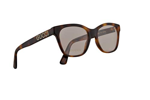 Gucci GG0420O Brille 52-18-140 Havana w/Demo Clear Lens 002 GG 0420O