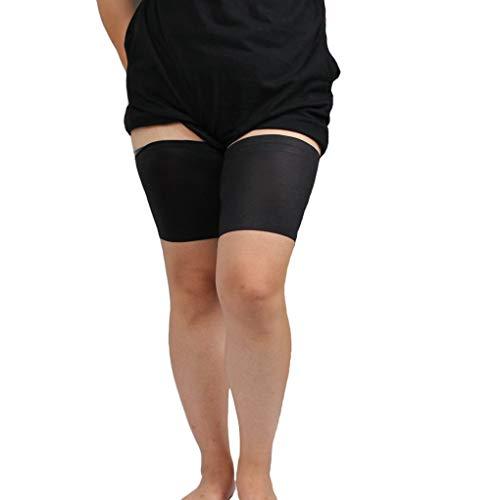 Pigup Frauen-Silikon-Anti-Rutsch-Bein-Hülsen-elastische Feste Anti-Reibung Yoga-Schenkel-Band -