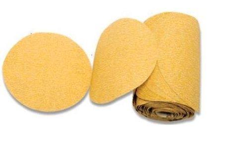 karebac 18022lr6C280Premium Gold Psa 280Grit Schleifscheiben c-weight Aluminiumoxid stearated in 1000Disc, Value Pack, 15,2cm