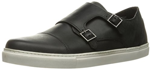 Crevo Lawless Hommes Cuir Baskets Black