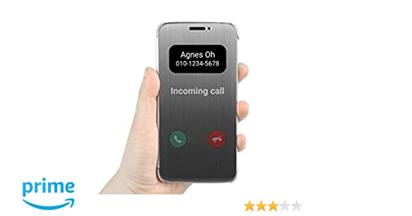 online store 6a4a9 0ba36 Helix Window Leather Flip Cover for LG G5 (Sensor Flip)