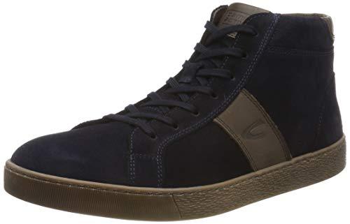 camel active Herren Tonic 13 Hohe Sneaker, Blau (Midnight/Mocca 1), 49 EU