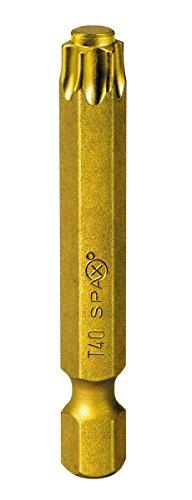 SPAX BIT T-STAR plus T40, Länge: 50mm, 5 Stück in der Dose, 5000009183409 -