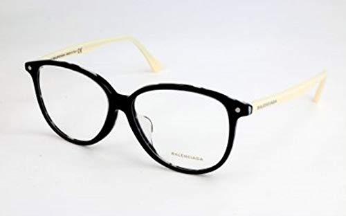 Balenciaga Damen Ba5018 005-56-13-145 Brillengestelle, Schwarz, 56