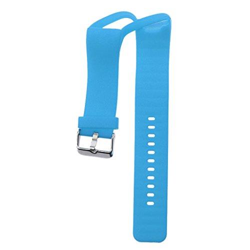 MagiDeal Pulsera de Silicona Correa de Repuesto para Polar Reloj Inteligente Accesorios Electrónico Cómodo Duradero con Hebilla Segura - Azul