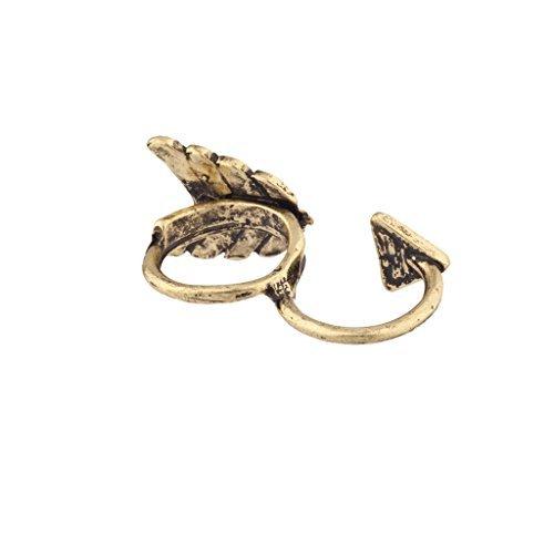 Lux accessori freccia Arrowhead anello due dita