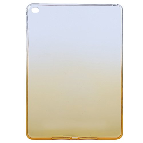 Zorbes TPU Tablet Back Cover Gradient Color Case for iPad Air 2