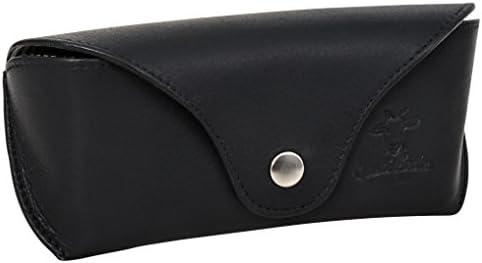 Gusti Cuir studio - Étui à lunettes Cornelius Boîte à lunettes unisexe en cuir de vachette Noir 2A113-33-2 B01JJ86YL2 | Fabrication Habile